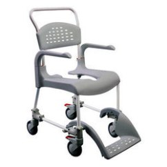 Chair With Wheels Hanging Basket Chairs Canada Aluminum And Plastic Commode Rs 2600 Piece Id