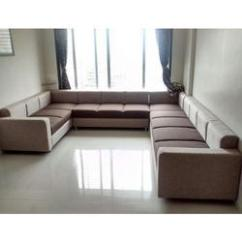 Leather Fabric For Sofa India Wooden Set Under 10000 U Shaped At Best Price In