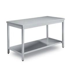 Metal Kitchen Tables Green Backsplash Stainless Steel Table Ss Latest Price Zinox