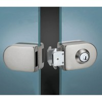 Glass Door Lock, Glass Door Locking System, Office Glass ...