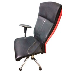 Revolving Chair Used White Wingback Standard Office Rs 4500 Piece Kaizan
