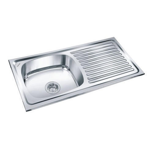 Million SS Sink with Drainboard at Rs 1150 piece