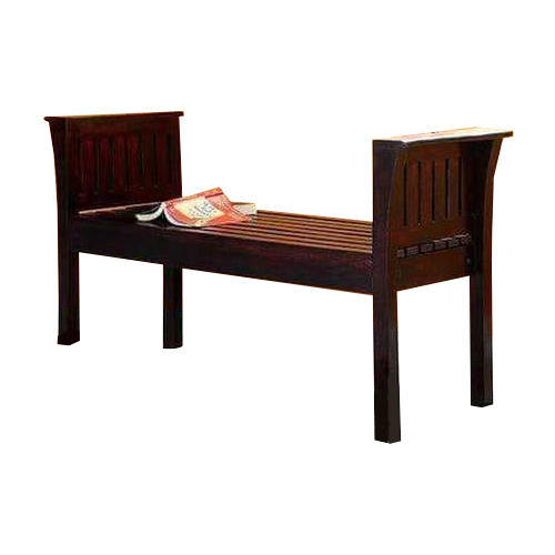 2 seater wooden chair
