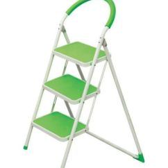 Kitchen Ladder Booth Seating Ozone Homz 3 Step Steel At Rs 3300 Piece