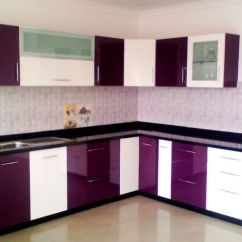 Kitchen Cabints Faucets Violet And White Pvc Cabinet Rs 1800 Feet Sri Sai Ram