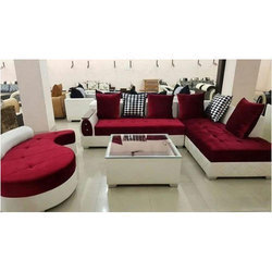 latest sofa set designs kourtney quilted side leather collection in patna स फ ट पटन bihar get white and red l shape for home