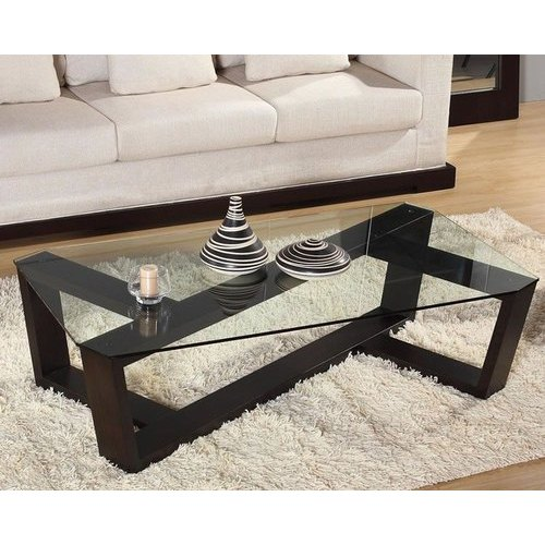 drawing room glass center table
