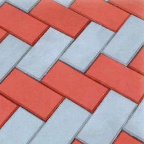 brick type paver tile