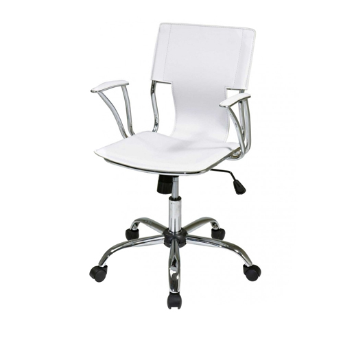 steel chair for office mainstays outdoor double rocking white seats 2 stainless at rs 1000 piece balaji nagar