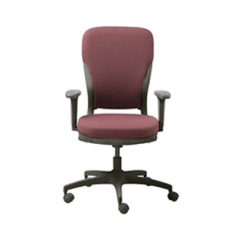 Godrej Revolving Chair Catalogue Leather Chairs Dining Room Grey Red Motion High Back Interio Store Id