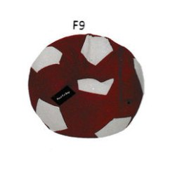Football Bean Bag Chair Red Rocking Chairs Soccer फ टब ल ब न ग