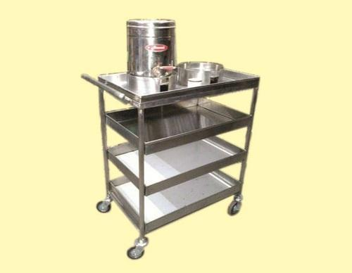 Small kitchens are big on cozy charm but can be difficult to keep them organized. Laxmi Ss 202 Kitchen Trolley Load Capacity 50 100 Kg Id 17735860273