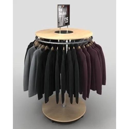 round hanging garment rack