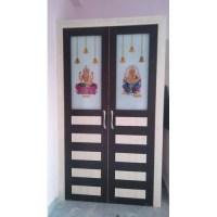 Pooja room door designs - www.chefhorizon.com