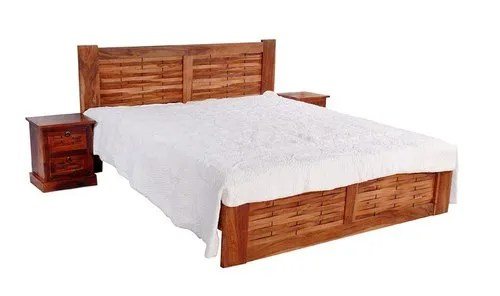 Brown Rosewood Bedroom Furniture King Size Wooden Bed Rs 25680 Piece Id 20999071673