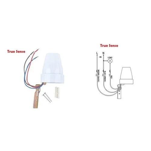 Photocell Sensor Day Night Light LDR Twilight Switch