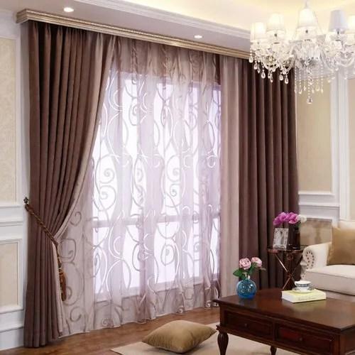 Chiffon Plain Living Room Curtain Rs 300 Meter Vama Home Furnishings Id 21095943873