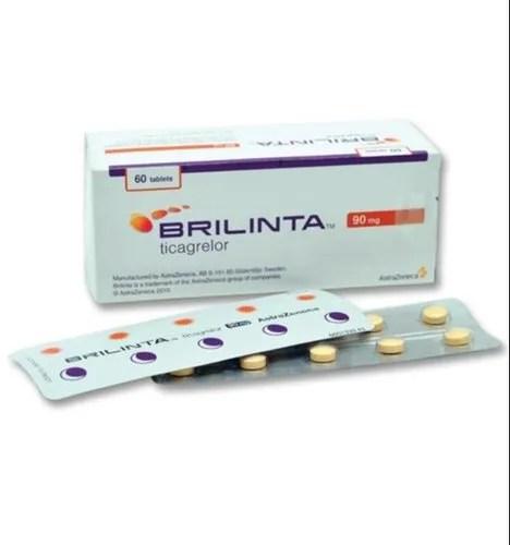 Cartiovascular Medicine - Brilinta 90 Mg Tablet Exporter ...