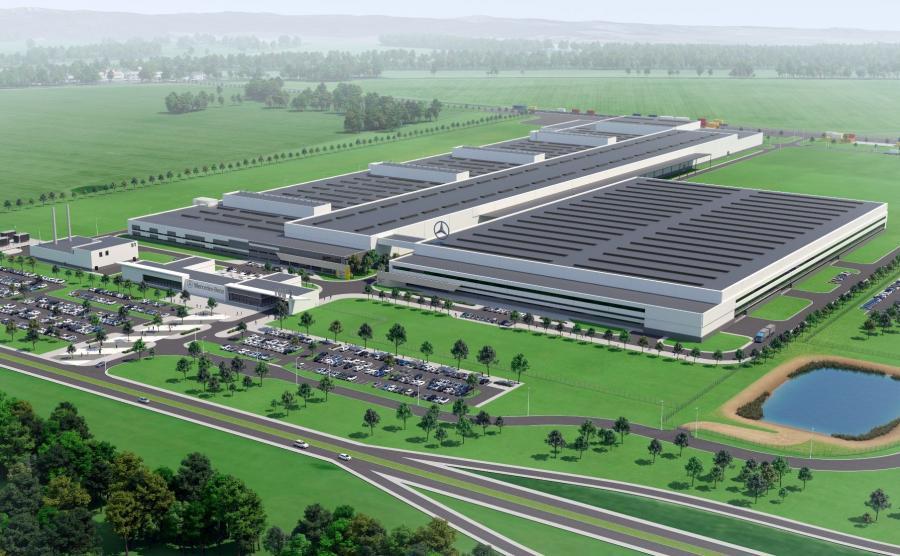 Na pierwszy etap inwestycji niemiecki koncern Daimler AG chce przeznaczyć ok. 500 mln euro