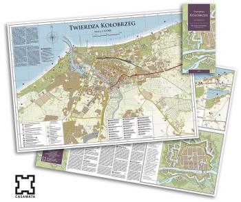 Twierdza Kolobrzeg Mapa Turystyczna 2016 Kazamata