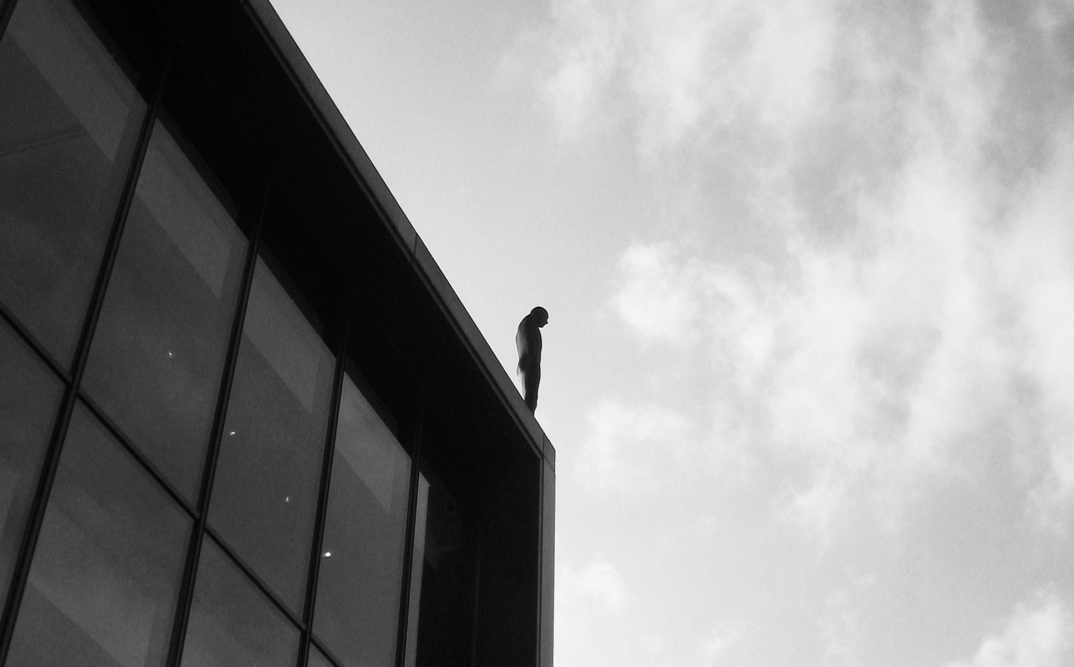 Look Up Antony Gormley And The Roundhouse Roundhouse