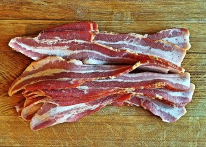 Bacon's not sugar free