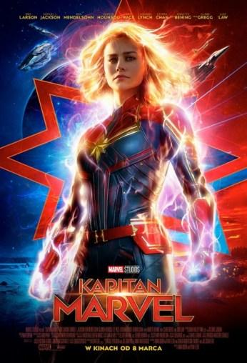 "Plakat filmu ""Kapitan Marvel"""