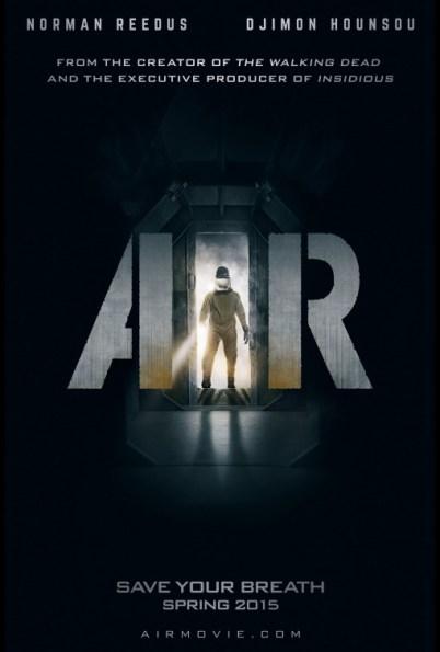 Plakat filmu Powietrze z 2015 roku