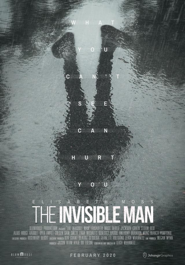 """Plakat filmu """"Niewidzialny człowiek"""" (2020)"""