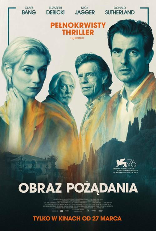 Plakat filmu Obraz pożądania (2019)