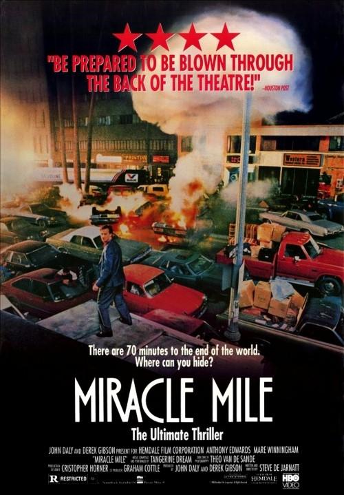 """Plakat filmu """"Cudowna mila"""" z 1988 roku"""
