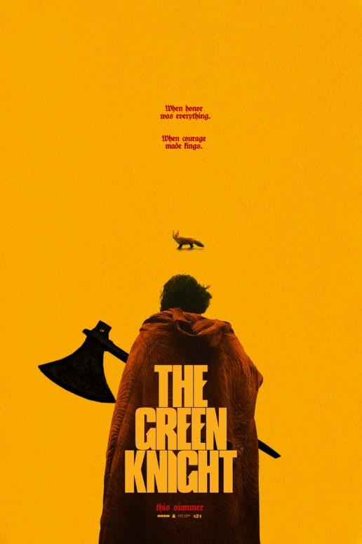 Plakat filmu Zielony Rycerz. The Green Knight (2021), reż, David Lowery