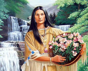 Native Woman Crush Wednesday: Nanye-hi of the Cherokee Nation
