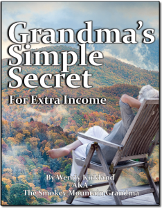 Grandma's simple secret for extra income