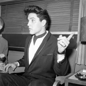 Elvis Presley in 1960