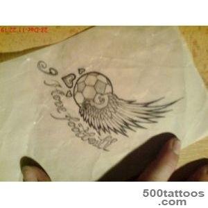 Small Football Tattoo Ideas