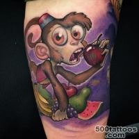 Monkey tattoo designs, ideas, meanings, images