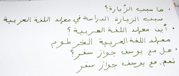 Arabic Spoken In Sudan