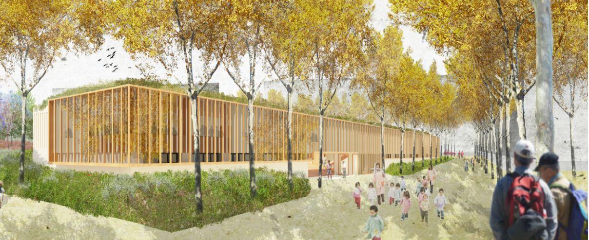 Imatge del nou Ateneu La Bòbila al 2021