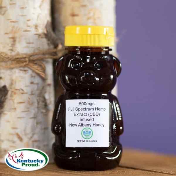 locally sourced cbd honey