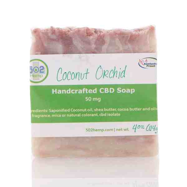 Handcrafty Natural CBD Soap