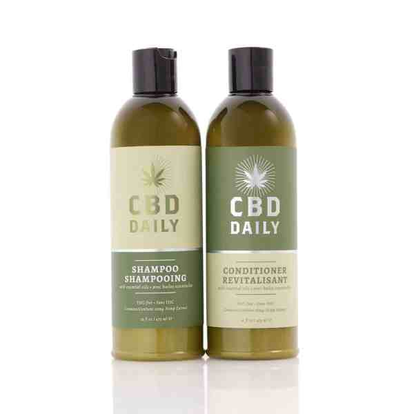 CBD Shampoo and Conditioner
