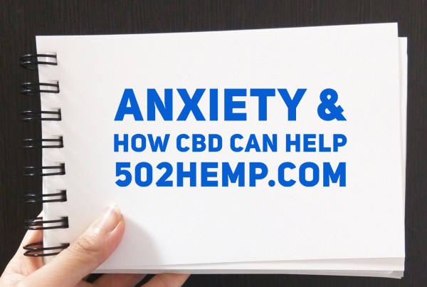 Anxiety and CBD