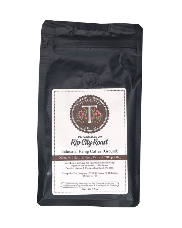 Rip City Roast CBD Infused Coffee