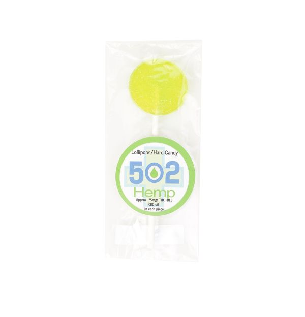 502 Hemp CBD Infused Lollipop