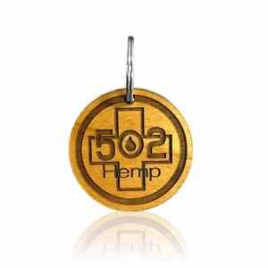 502 Hemp Key chain