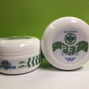 pet CBD balm from 502 Hemp Image
