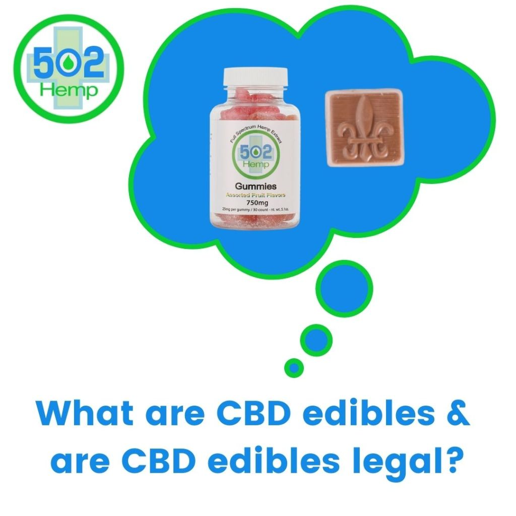 CBD edibles legal