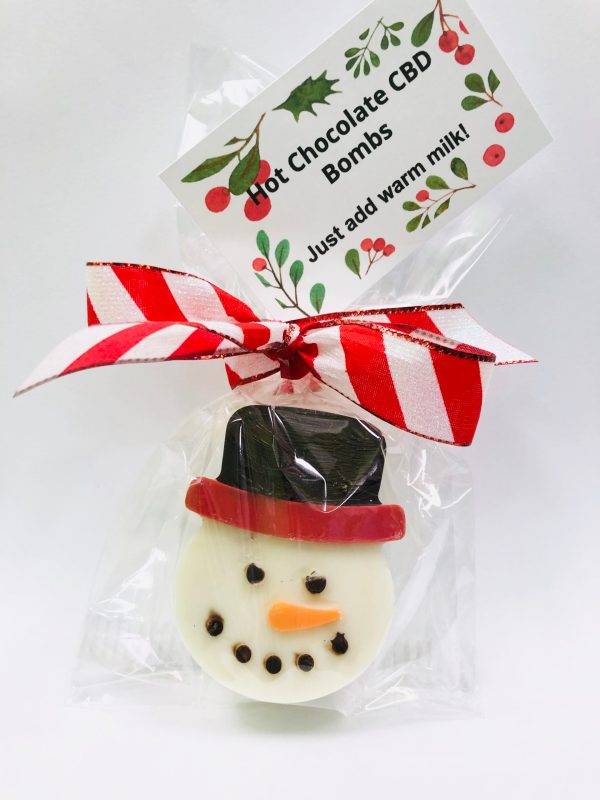 White Chocolate Peppermint Bomb