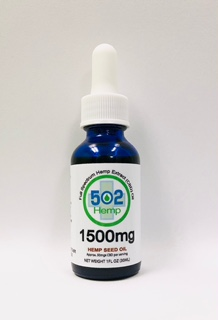 1500mg Natural with Hemp Seed Oil